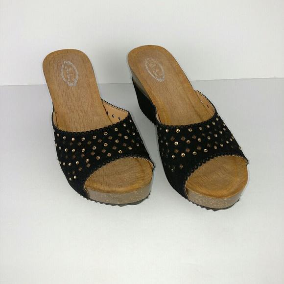 cdc9aed68 Italina Shoes - Italina bling cork wedge heels